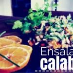 ENSALADA DE CALABAZA Y MANDARINA