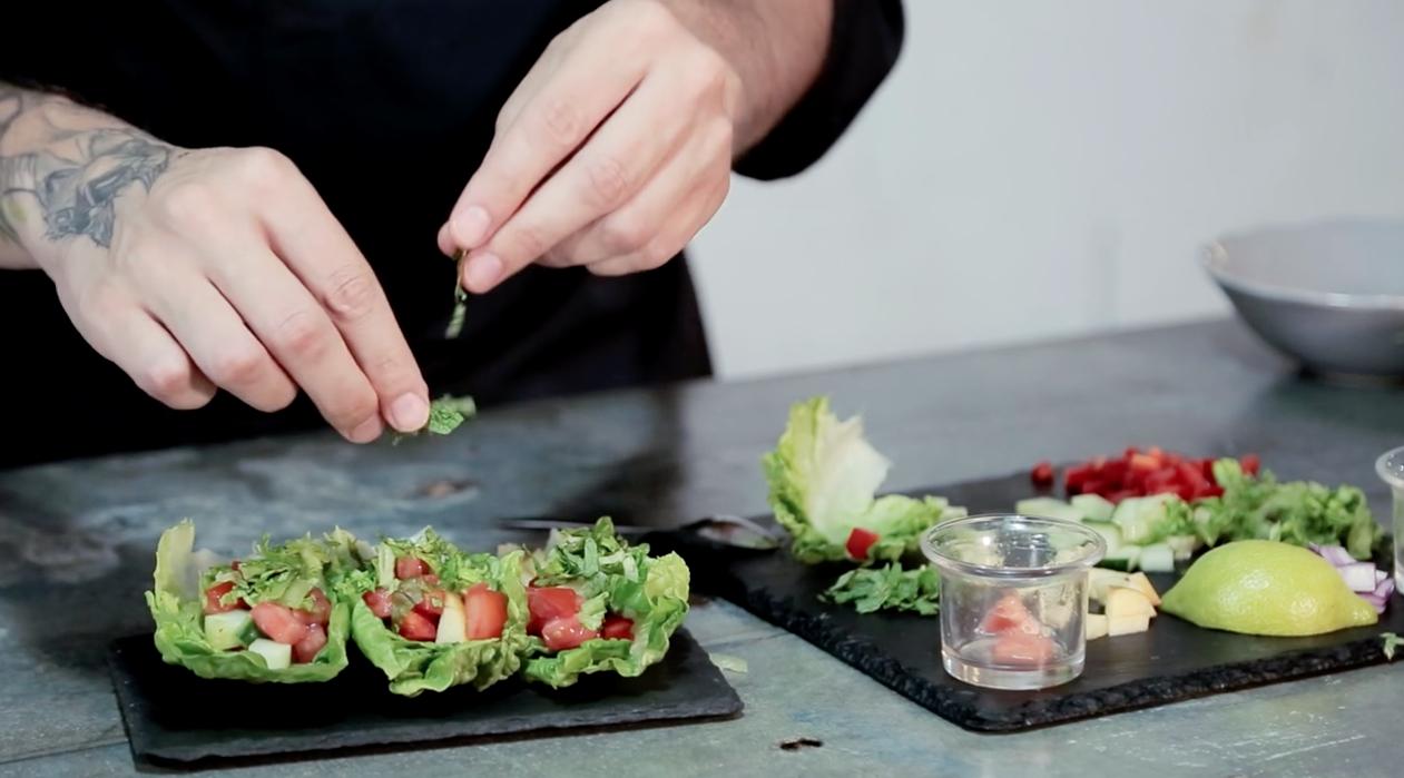 cursos de cocina vegetariana luis garcia vegan food