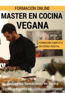 master cocina vegana